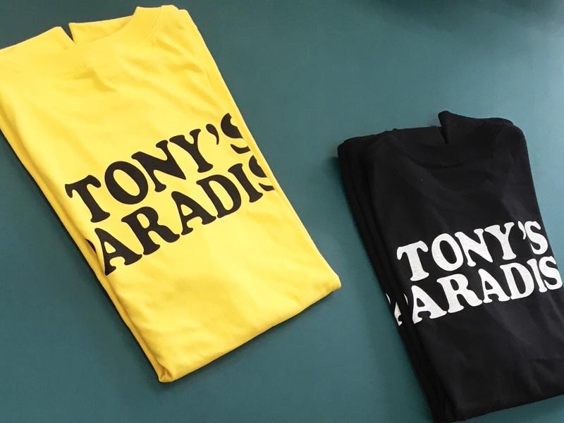 TONY'S PARADISE様 Tシャツ シルク印刷02