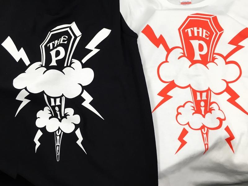 THE Pnions様 Tシャツ シルク印刷