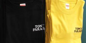 TONY'S PARADISE様 Tシャツ シルク印刷01